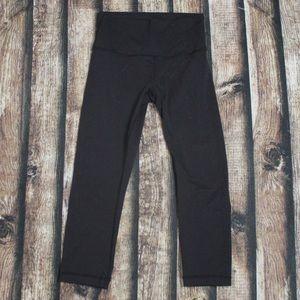 Lululemon Black Capri Leggings